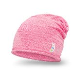 Bright pink girl's hat