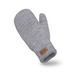 Light grey womens' gloves