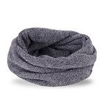 Men's tube scarf in light grey