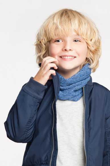 Boys' tube scarf