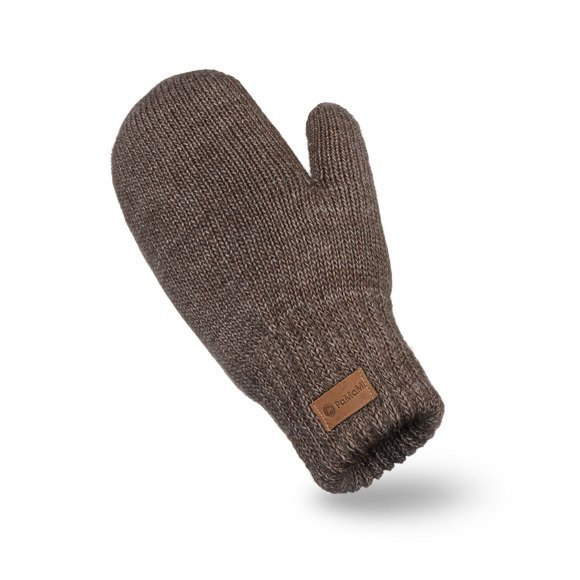 Chocolate womens' mittens