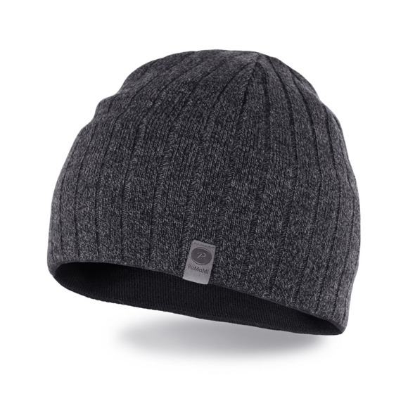 Dark grey mulina men's hat