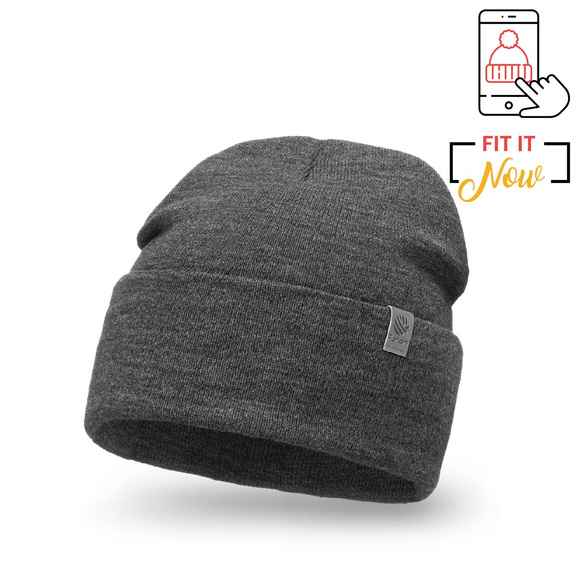 Double roll men's hat