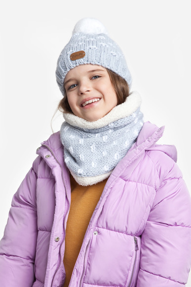 Girls' set with fleece