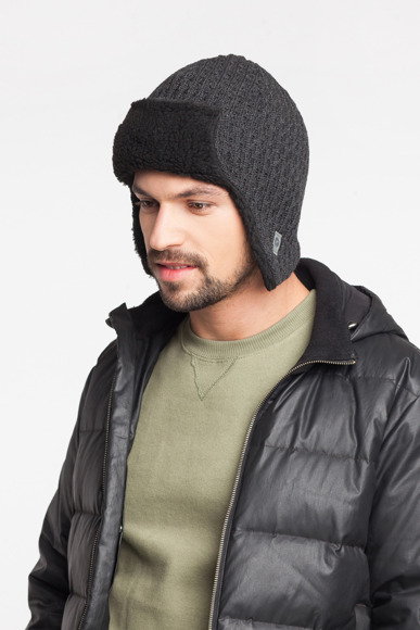 Men's Winter hat - eared