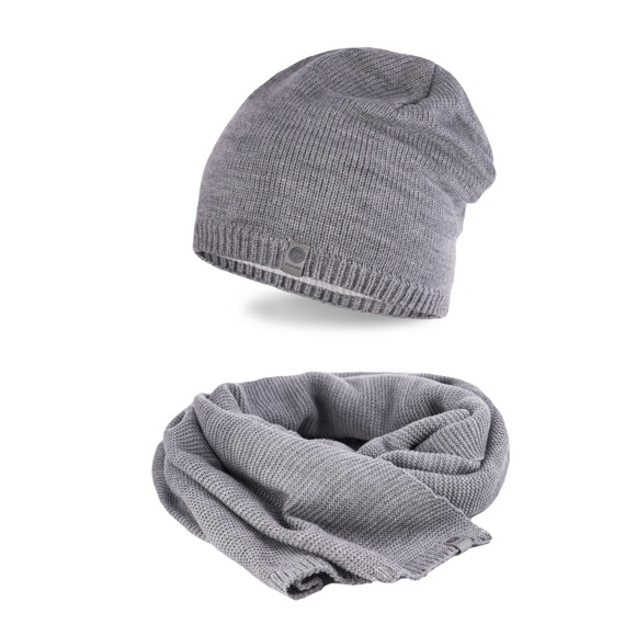 Men's Winter set in light grey