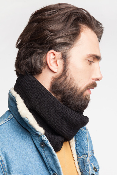 Men's tube scarf