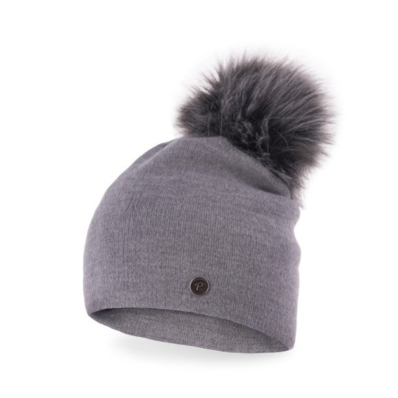 Standard women's hat with pompom