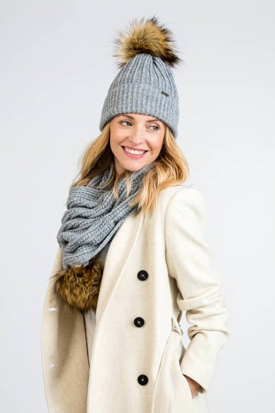 Warm Women's set, hat and scarf
