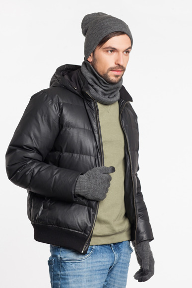 Warm men's winter set