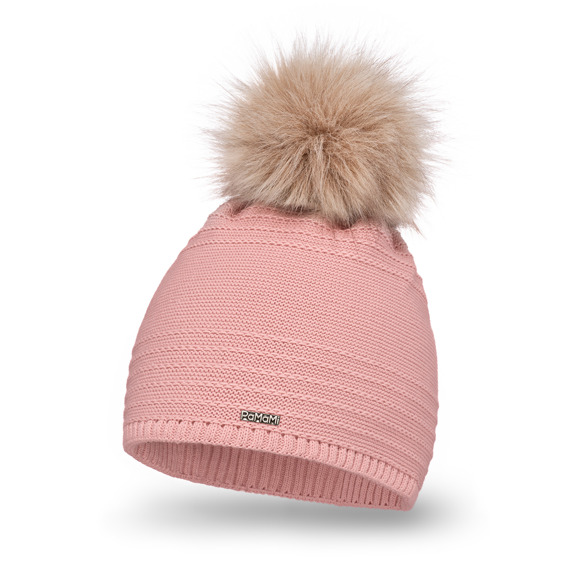 Women's Hat with pompom