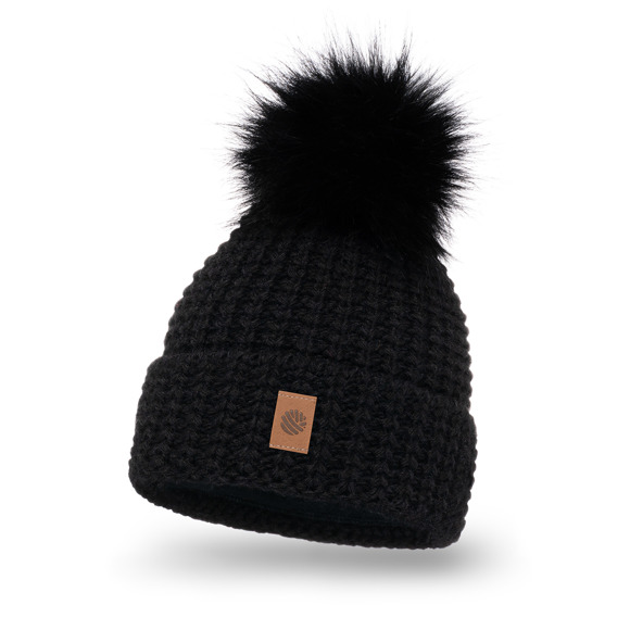 Women's Winter Hat with pompom