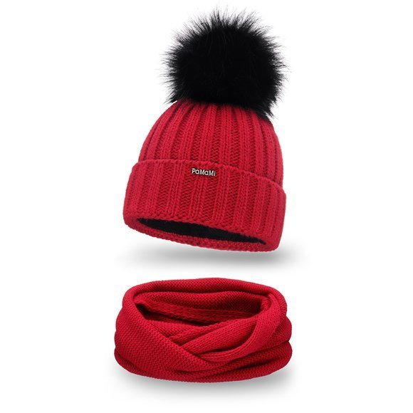 Women's winter set- hat and tube scarf