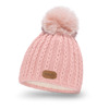Girl's hat with pompom