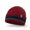 Men's beanie hat with sripes