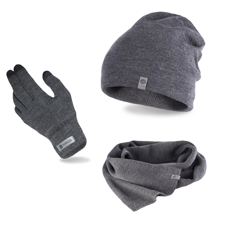 9797685054a53c Komplet męski - czapka, szalik i rękawiczki | PaMaMi.pl